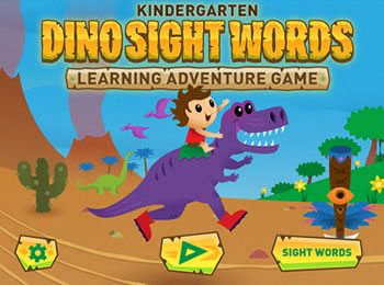 Dino Sight Words